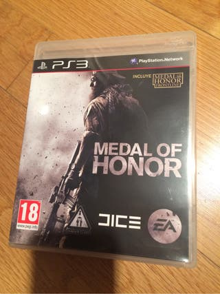 Juego MEDAL OF HONOR Ps3