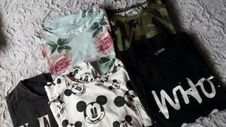 Pack 5 camisetas Talla S