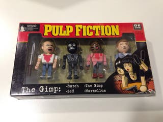 Pulp Fiction. 4 figuras.
