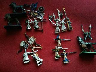 Lote warhammer altos elfos (oldhammer)