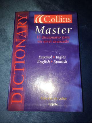 Diccionario inglés español Collins Master