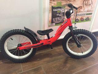 Bici Monty push 202 iniciacion aluminio