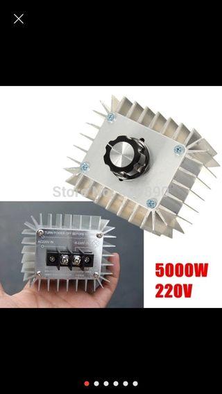 Regulador electronico 5000W