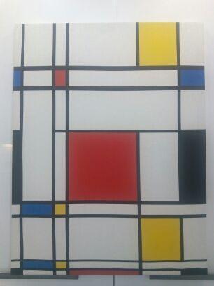 "Cuadro lienzo réplica de ""Piet"" de Mondrian"