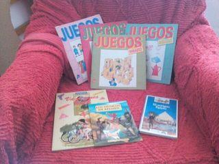 Libros lectura y juegos