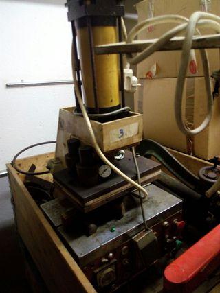 maquina de termosellar. termoselladora