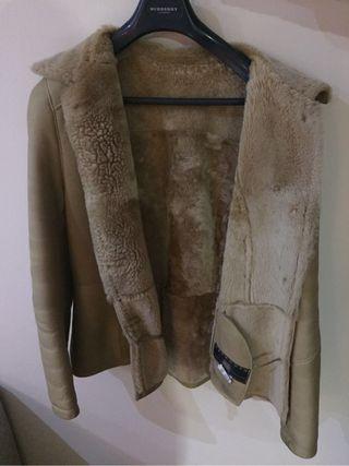 Jaqueta de pell