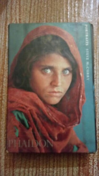 Libro fotos steve mc curry
