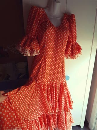 Traje flamenca Disponible