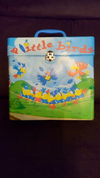 caja de metal little birds