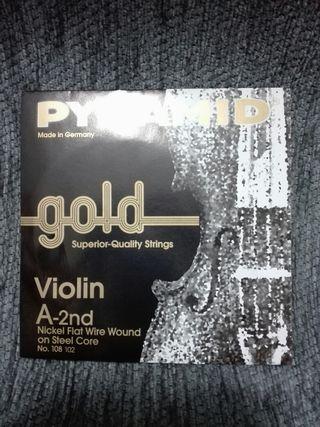cuerdas sueltas violin