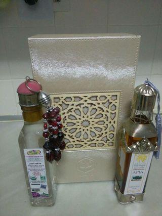 Aceite d'argan i agua de flor de rosa