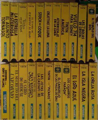 Colección Tintin