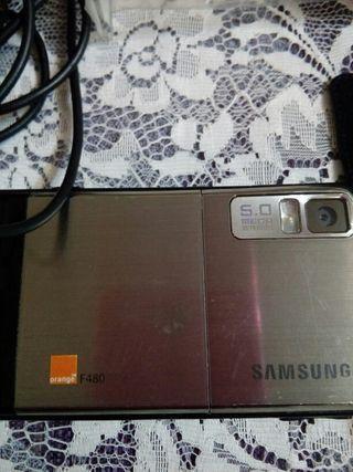 Samsung F480 Tactil Orange