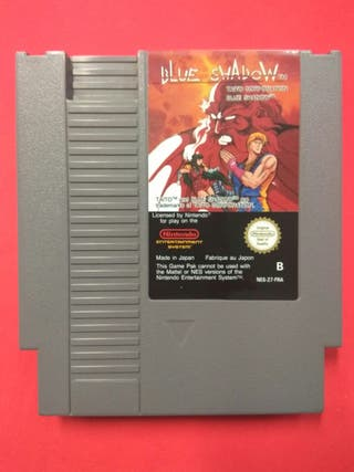 Blue Shadow Nintendo Nes PAL-B