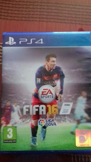 juego fifa16 ps4