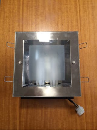 Lote 5 downlight cuadrados