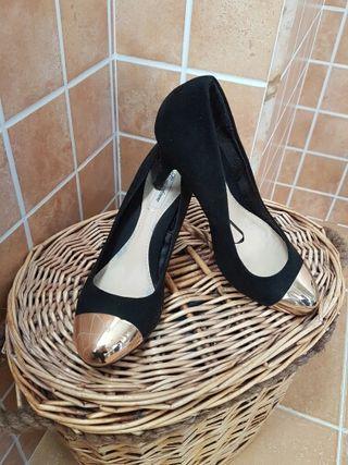 zapatos de tacón de fiesta de segunda mano en ferrol en wallapop