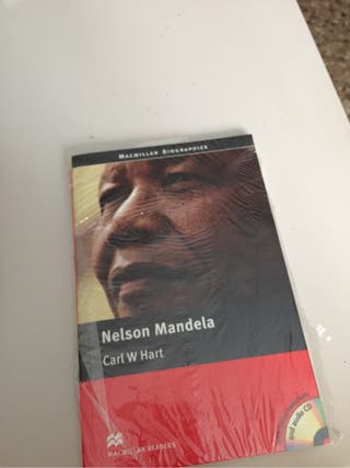 Libro inglés Nelson Mandela completamente nuevo