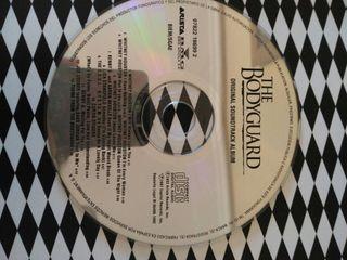 CD The Bodyguard.Whitney Houston