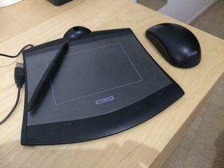 Tableta lapiz dibujo digital Wacom
