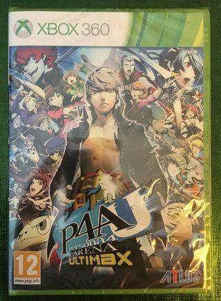 Persona 4 Arena Ultimax Xbox 360 PRECINTADO!!