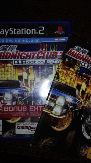 Caja Midnight Club 3 PS2 -sin juego-