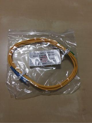 Cable de fibra optica 2 mtrs.