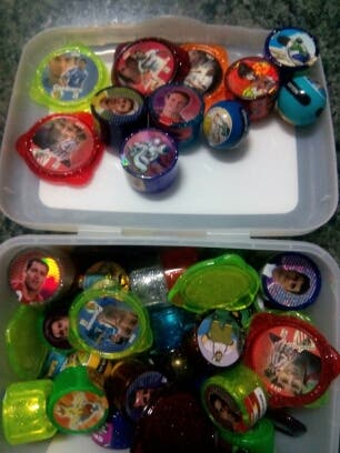 Tazos, rolers y canicas