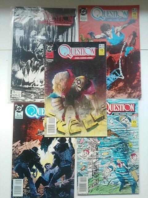 The Question colección completa (Zinco)