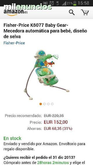 Mecedora Bebe Automatica Fisher Price