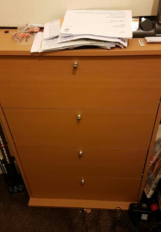 CD cabinet you can put CDs inside a wooden cabinet