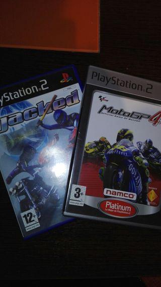 Pack de Motos para PS2. Jacked y MotoGP4