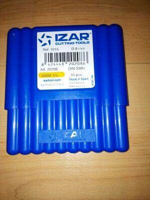 Estuche de brocas IZAR 8mm