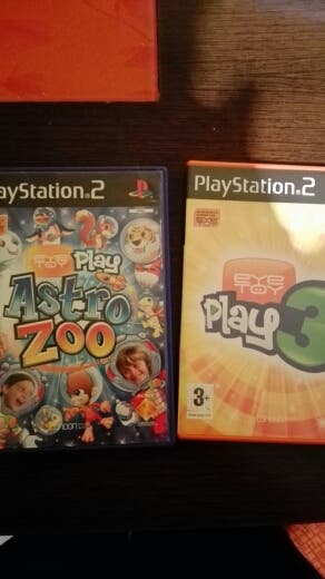Pack Eye Toy para PS2. Play3 y Astro zoo