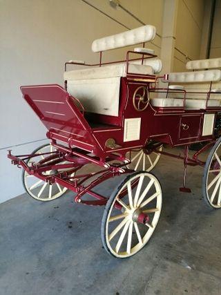 grand break coche de caballos