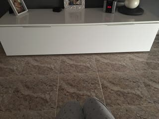 Mueble tele blanco