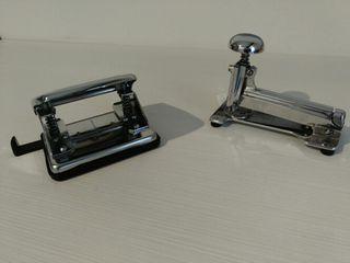 Grapadora y Perforadora