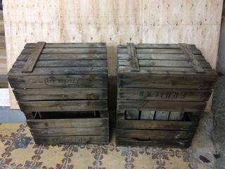 Cajas madera antiguas