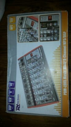 Mezclador DJ 9 canales con efectos Pdm-l905