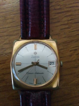 reloj zodiac automatico antiguo