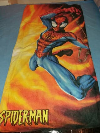 toalla spiderman