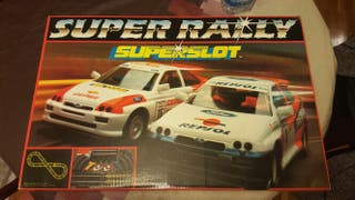 Scalextric Super Rally Superslot + extra coche