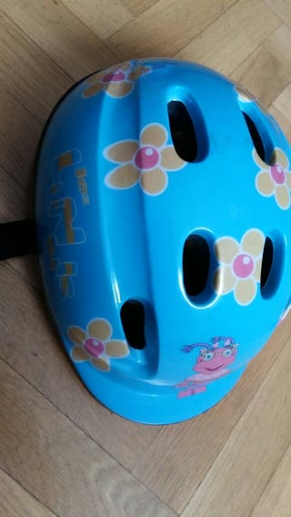 casco bici niña