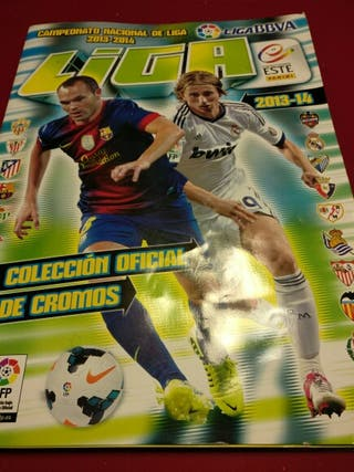 Cromos Album Liga 2013- 2014 Liga Este