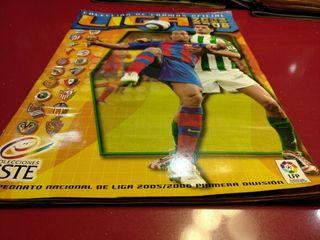 Album cromos Liga 2005 2006 Liga Este