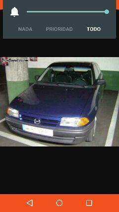 Opel Astra 1994 gasolina 1.600mejor probar