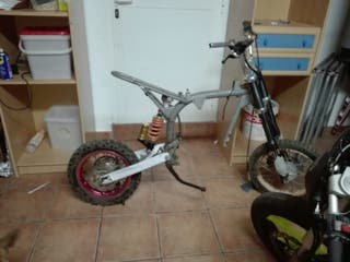 chasis pitbike con motor