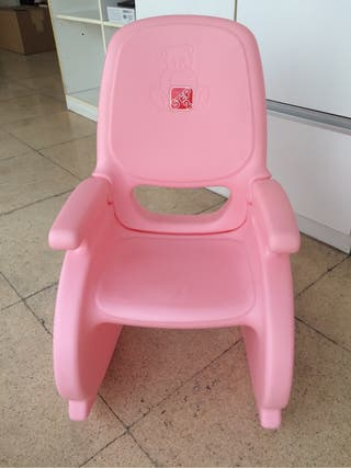 Mecedora silla infantil