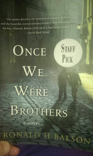 """Book """"Once we were brothers"""""""